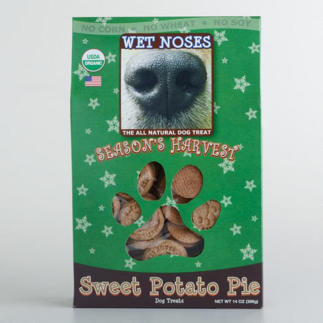 Wet Noses Holiday Sweetpotato Pie Dog Treats