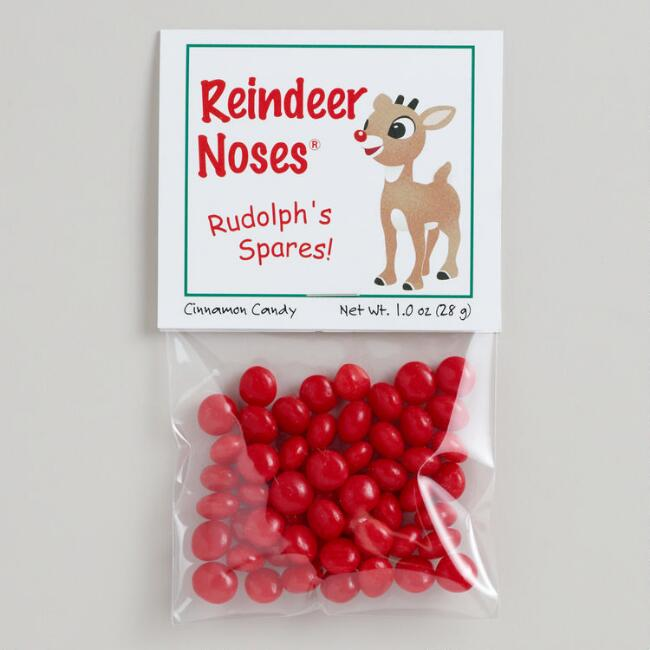 Reindeer Noses, Set of 12