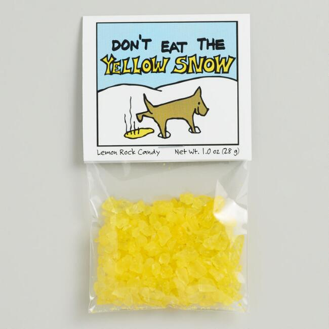 Don't Eat the Yellow Snow, Set of 12