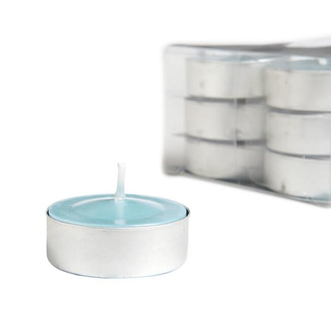 Mediterranean Sea Tealight Candles 12-Pack