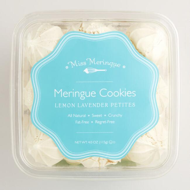 Miss Meringue Lemon Lavender Petite Meringues