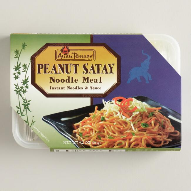 Asian Passage® Peanut Satay Noodle Meal