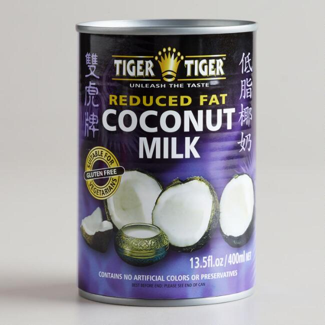 Tiger Tiger Low Fat Coconut Milk, Set of 6