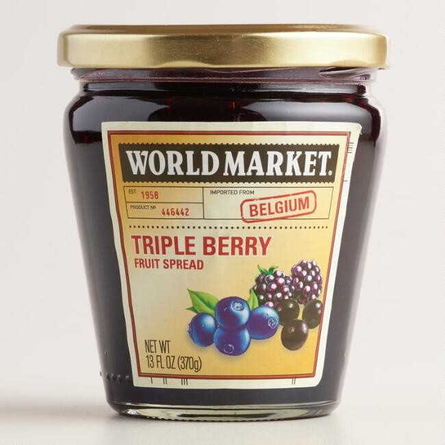World Market® Triple Berry Jam