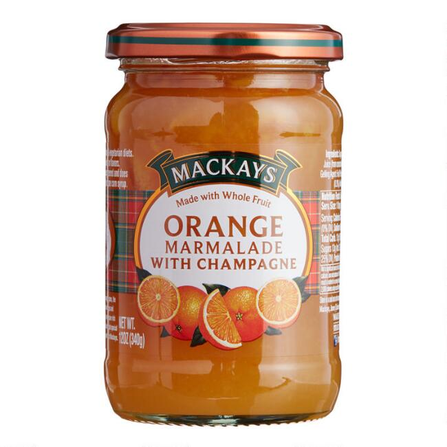 MacKays Orange Marmalade with Champagne, Set of 6