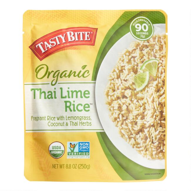 Tasty Bites Thai Lime Rice, Set of 6