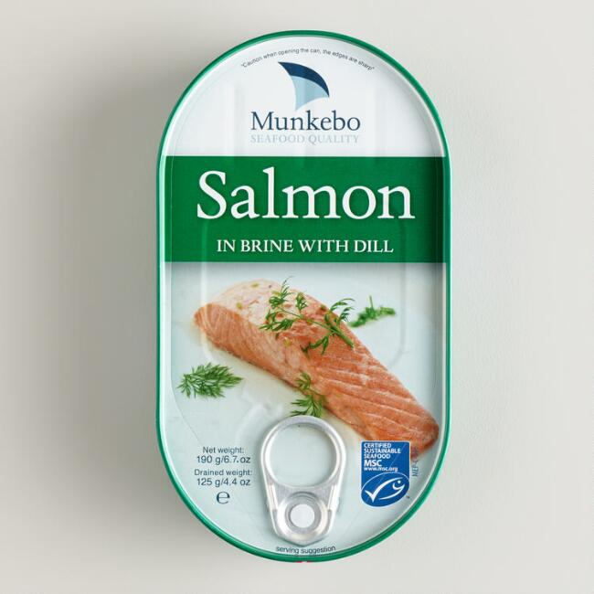 Munkebo Salmon With Dill, Set of 2
