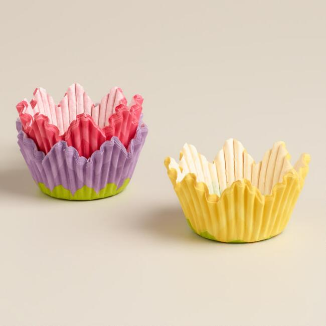 Mini Tulip Baking Cups, 75-Count
