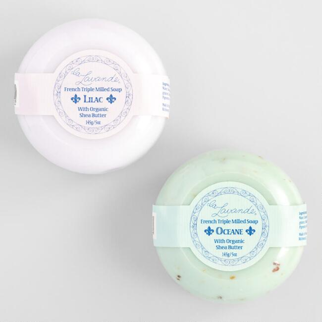 La Lavande Round Bar Soap Collection