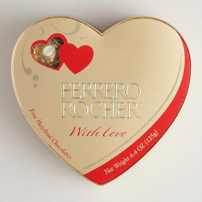Ferrero Rocher Heart Box, 10-Piece