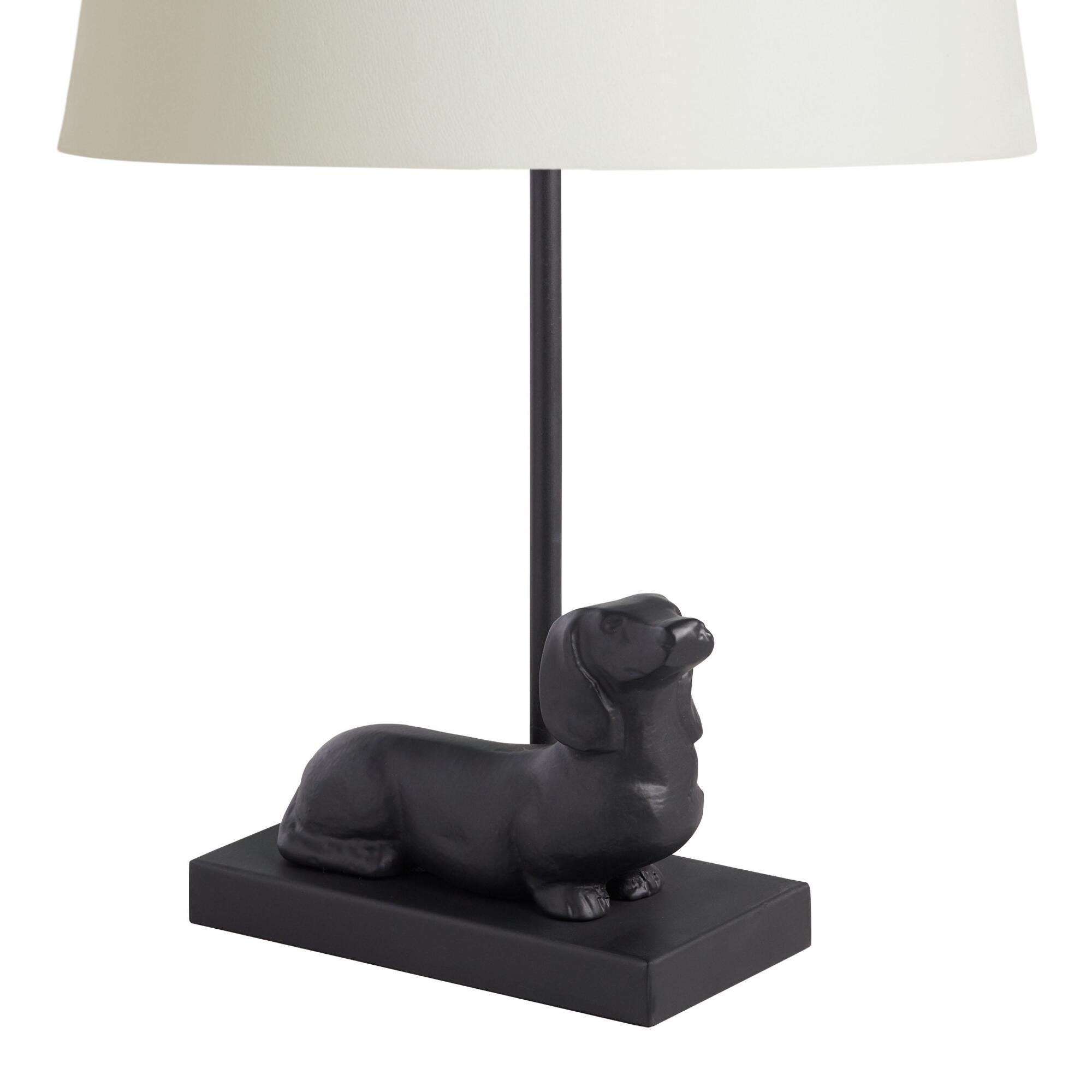 Accent lamps lamp shades base world market dachshund accent lamp base geotapseo Image collections