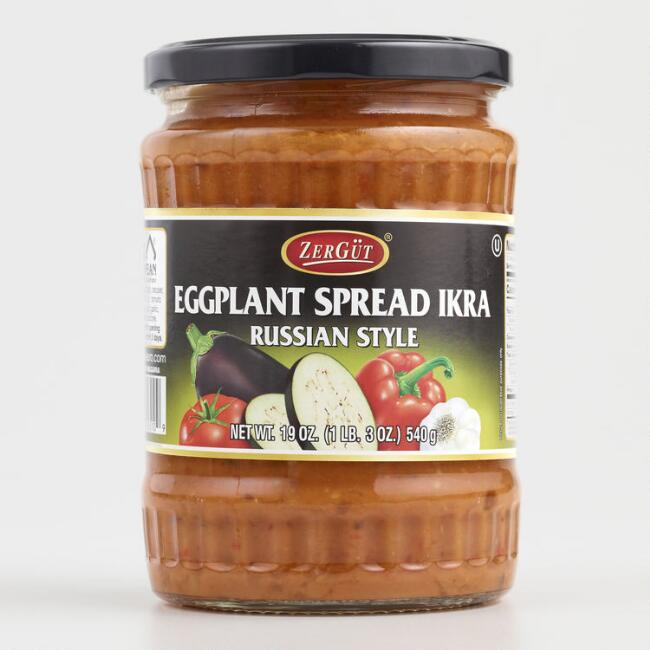 Zergut Ikra Eggplant Spread Set Of 6