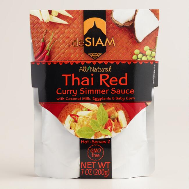 deSiam Coconut Red Curry Simmer Sauce