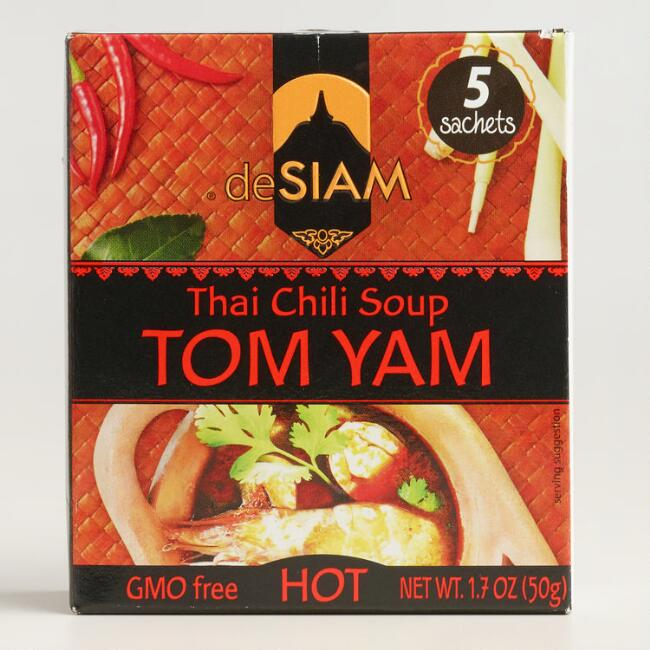 deSiam Instant Tom Yam Soup, Set of 12