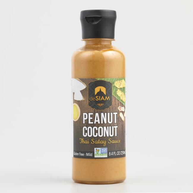 deSiam Peanut and Coconut Sauce, Set of 6