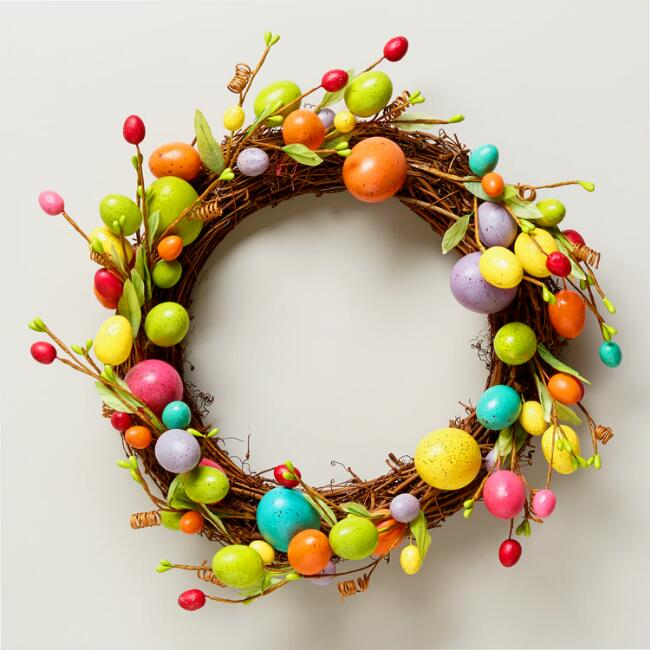 Speckled Egg Wreath
