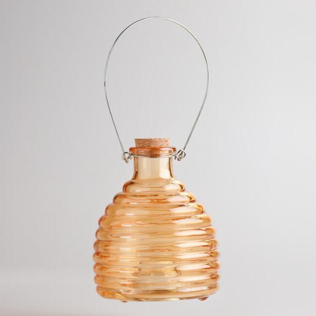 Orange Glass Wasp Catcher
