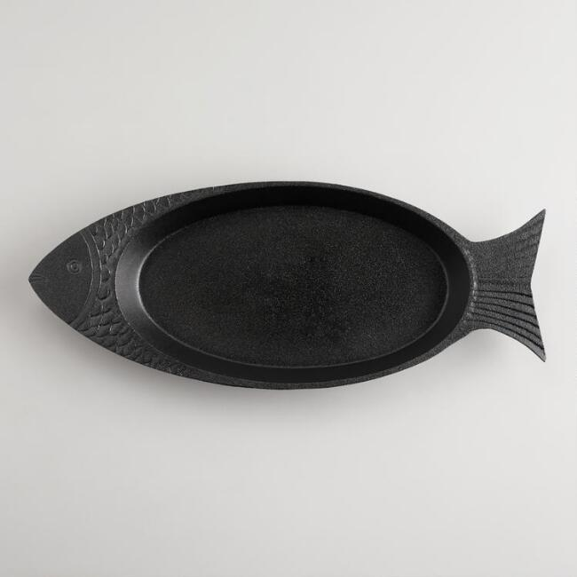 Cast Iron Fish Pan