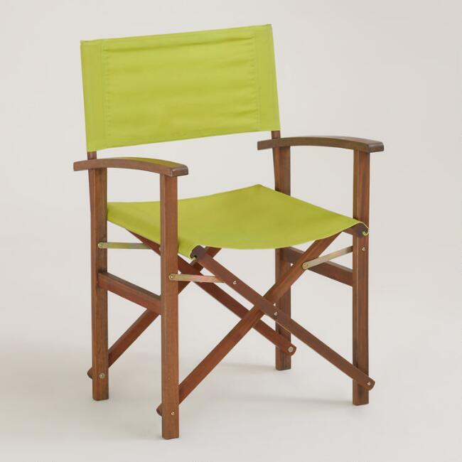 Apple Green Bali Club Chair Canvas