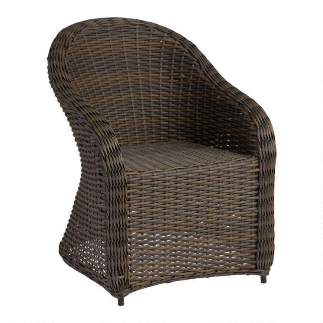 all weather wicker capistrano outdoor armchair world market