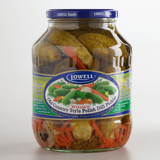 Lowell Old Country Style Pickles