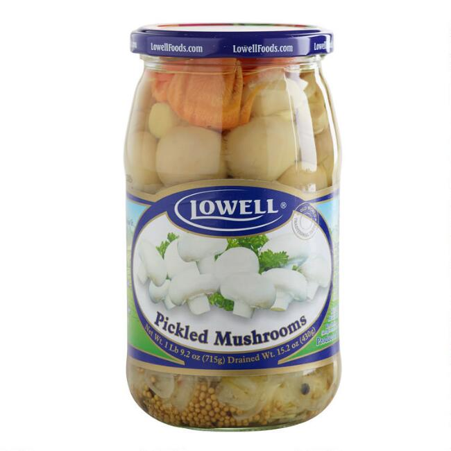 Lowell Pickled Mushrooms
