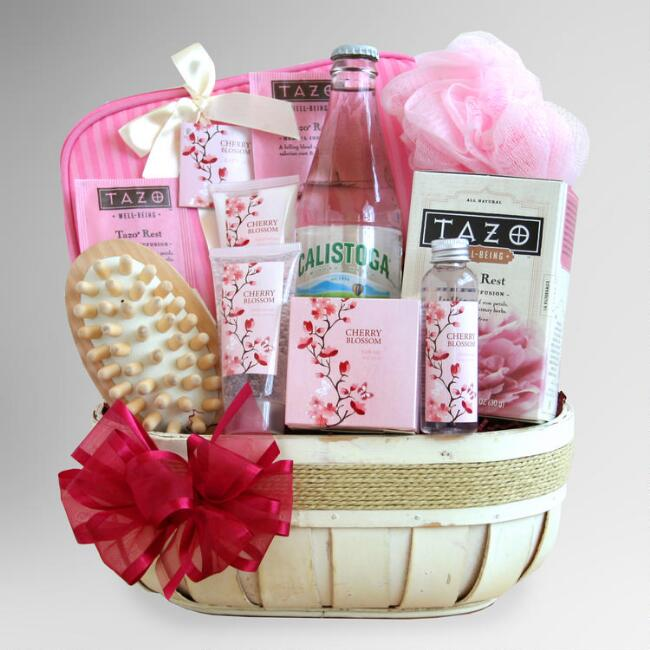 Sweet Scents of Cherry Blossom Gift Basket