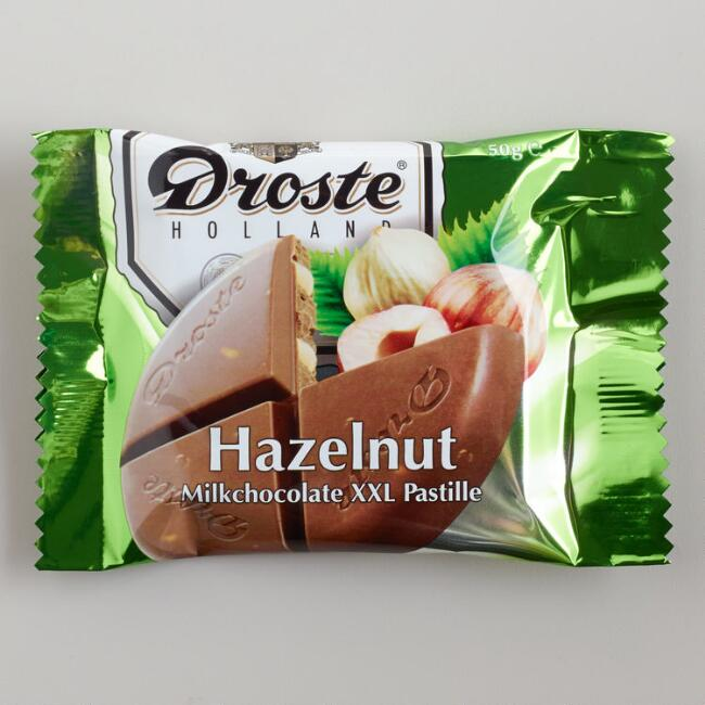 Droste Extra-Large Milk Chocolate Hazelnut Pastille