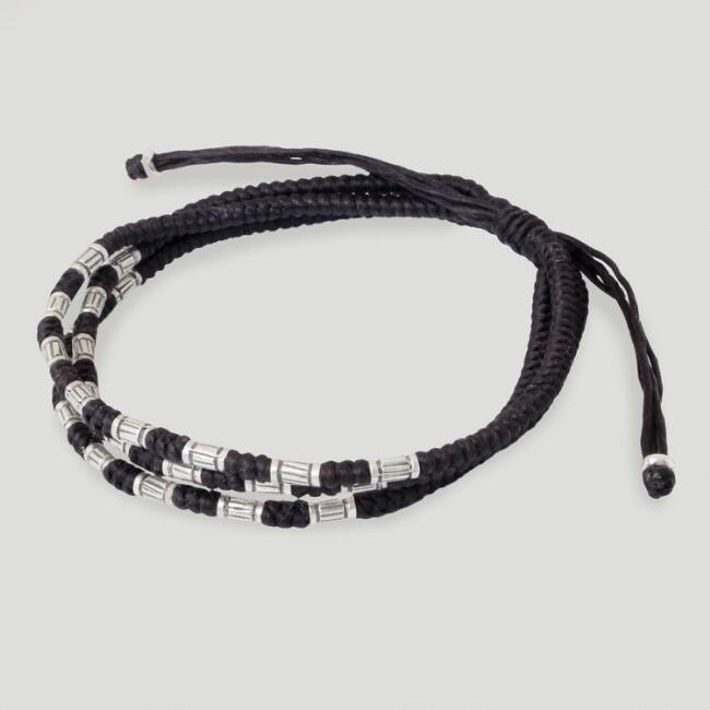 Novica Trio Braided Hill Tribe Bracelet