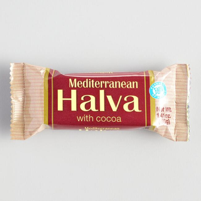 Mediterranean Cocoa Halva Bar Set of 16