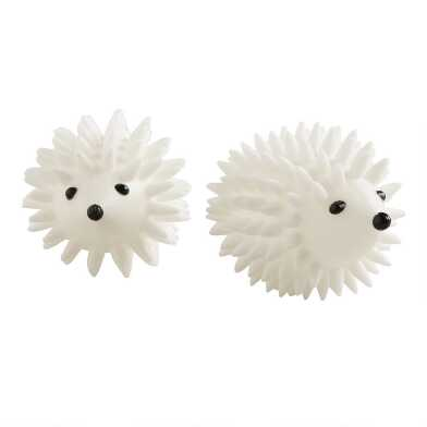 Hedgehog Dryer Balls, 2-Pack