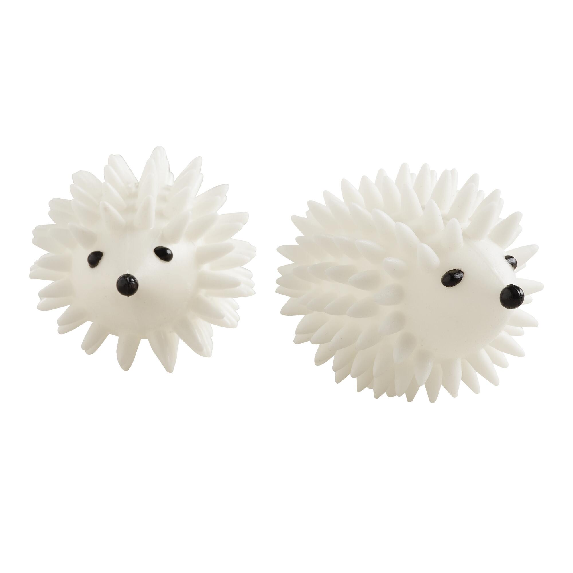 Hedgehog Dryer Balls, 2-Pack: White by World Market