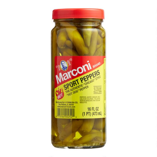 Marconi Sport Peppers Set Of 12
