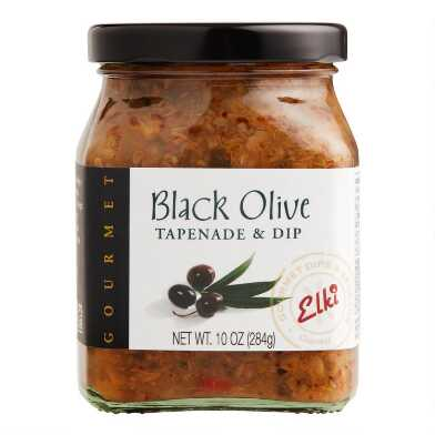 Elki Black Olive Tapenade And Dip