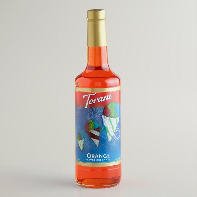 Torani Orange Snow Cone Syrup