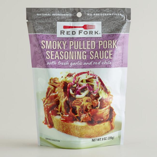 Red Fork Pulled Pork Seasoning, Set of 6