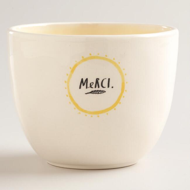 Merci Latte Bowl