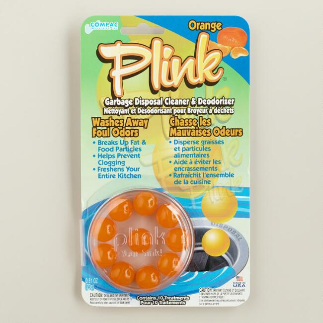 Plink Orange Garbage Disposal Cleaner