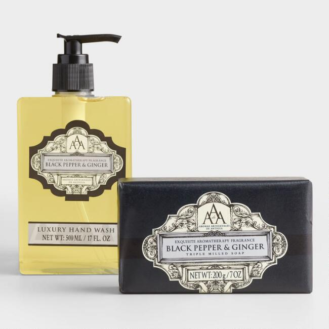 AAA Black Pepper and Ginger Soap Collection