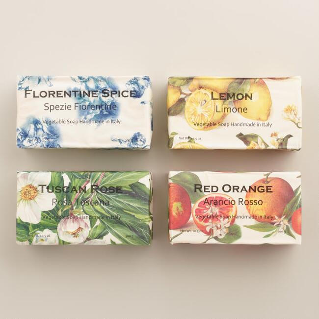 Italian Vegetable Soap Collection