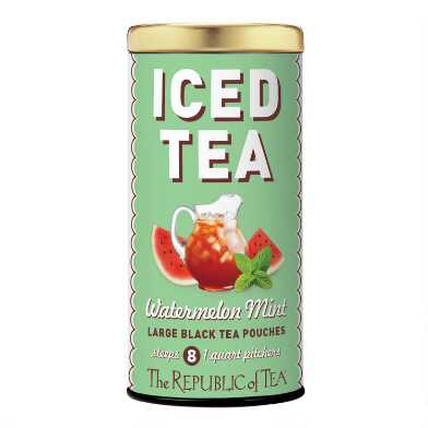 The Republic of Tea Watermelon Mint Iced Tea 8 Count