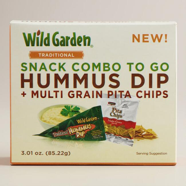 Wild Garden Traditional Hummus and Pita Chips