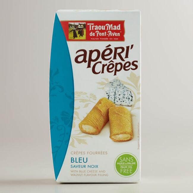 Apericrêpes with Blue Cheese and Walnut