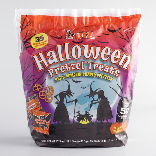 Utz Halloween Pretzel Bag, 35-Count