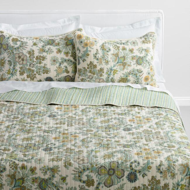 Alisha Indian Floral Bedding Collection