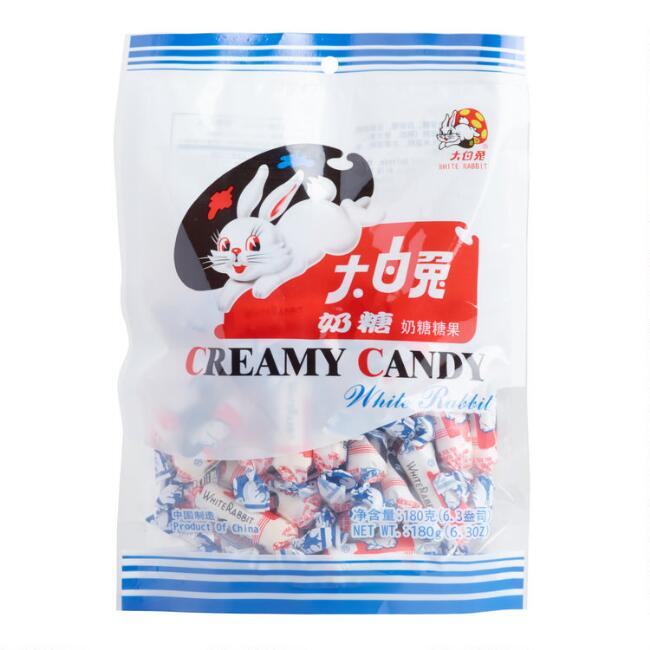White Rabbit Creamy Candy, Set of 10