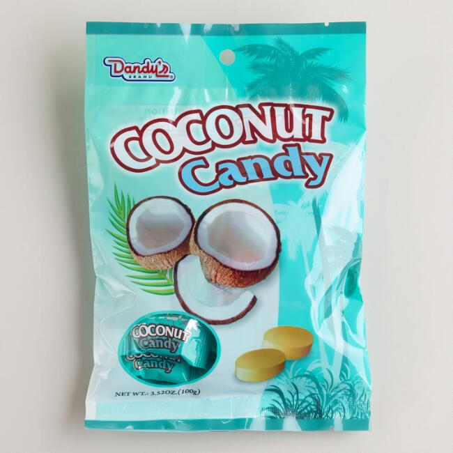 Dandy's Coconut Hard Candy, Set of 4