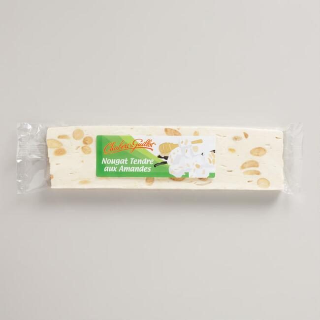 Chabert & Guillot Soft Almond Nougat Bar, Set of 6