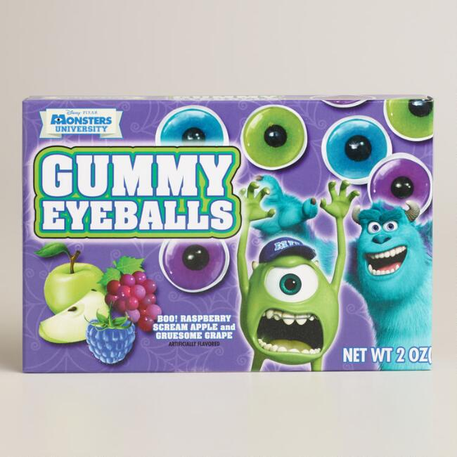 Monsters University Gummy Eyeballs