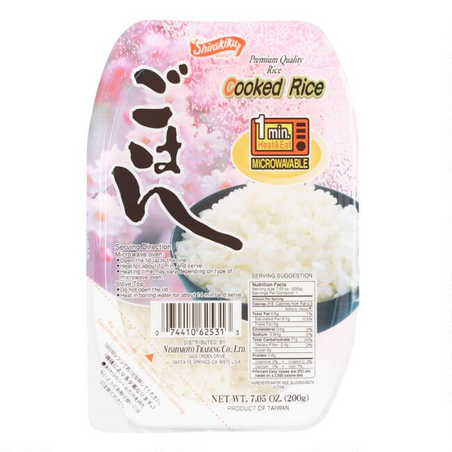 Shirakiku Microwave Rice